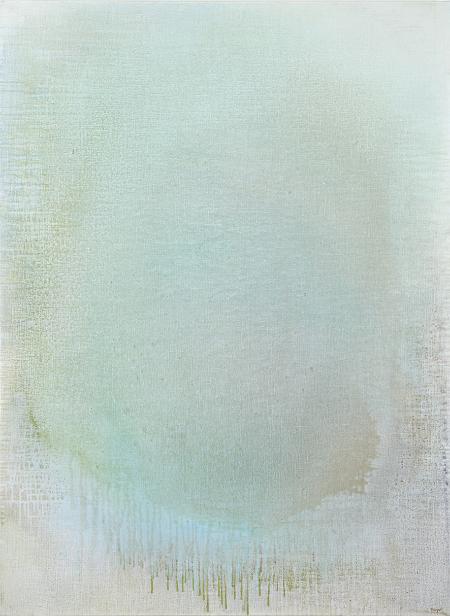 Tanya Wales, Abstract artist, Merrion Grove Residential Commission #2, Acrylic on linen