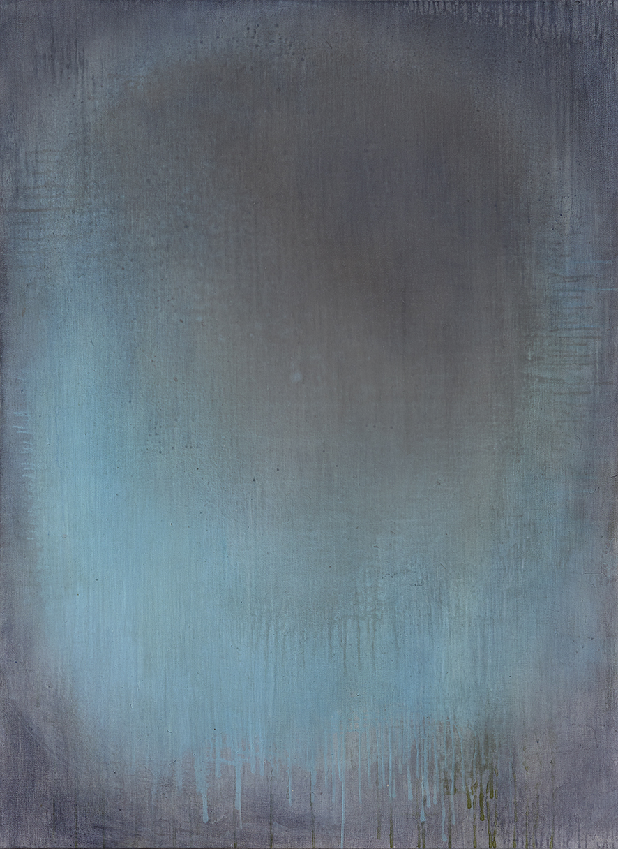 Tanya Wales, Abstract artist, Merrion Grove Residential Commission #3, Acrylic on linen